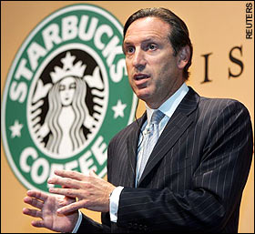 howard schultz starbucks wbf 2011