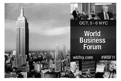 WBF 2011 NYC