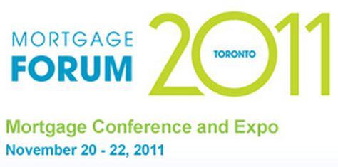 mortgage forum 2011